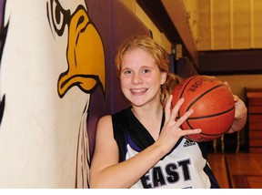 East Elgin's Kira Cornelissen, 17, has been selected as the Times-Journal's Player of the year in the TVRA South. (R. MARK BUTTERWICK, Times-Journal)