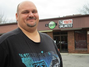 Dan Avey, the long-serving director of The Spot Youth Centre, is busy relocating the operation from the corner of Peel Street and Colborne Street South to a new location beside KWIC Internet in downtown Simcoe. (MONTE SONNENBERG Simcoe Reformer)