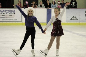 The Devon Skating Club held its first annual Christmas Skating Show at the Dale Fisher Arena on Monday, Dec. 17, with members of all ages displaying the skills and tricks they've learned in the club's first session of this season, which wraps up on Friday the 21st.