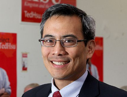 Kingston and the Islands MP Ted Hsu