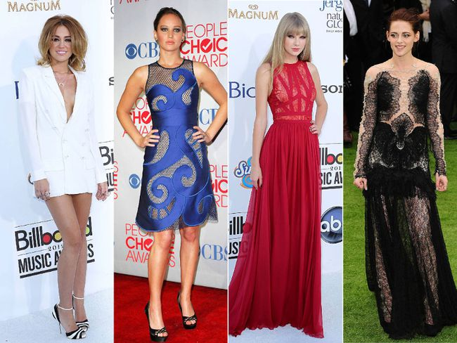 These 2012 red carpet moments from 2012 are worth a second look.  (WENN.com)