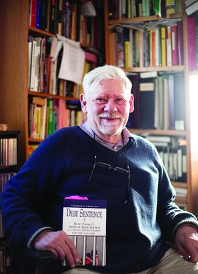 Thomas F. Pawlick, Marlbank resident, is the author of a number of books, and most recently Debt Sentence: How Canada's Student Loan System is Failing Young People and the Country.     Meghan Balogh - QMI Agency