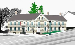 The late Darren Eskrick of Kincardine passed away in October 2013. His pixel art creations using a personal computer paint program include masterpieces like this shot of the Walker House Museum in Kincardine. Eskrick spent hours on each creation while living a life with Duchenne Muscular Dystrophy. (SUBMITTED)