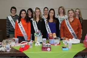 The nine princesses for this year's 50th Miss Chimo Pageant will participate in the preliminary judging rounds this Sunday, January 13.