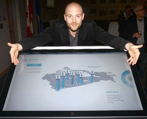 Cochrane Mayor Truper McBride, chair of the Calgary Regional Partnership, helped launched a new website, Explore Calgary Region, in Calgary, Jan. 10.There's also a presentation in Cochrane, Jan. 16.
