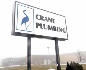 SCOTT WISHART The Beacon Herald Cana-Vac, a producer of central vacuums, will locate in the former Crane building on Erie St.