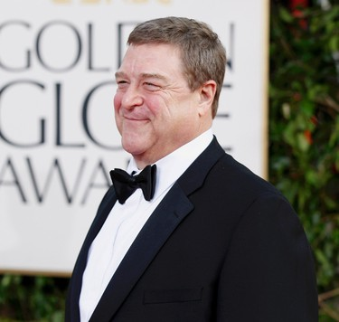 """Actor John Goodman, from the film """"Argo,"""" arrives at the 70th annual Golden Globe Awards in Beverly Hills, California, January 13, 2013.  REUTERS/Mario Anzuoni"""