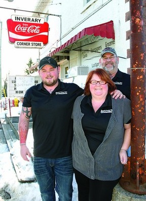 The Hannah's, Kim, Bill and son Josh have purchased the Inverary Corner Slice and Convenience and will be operating the popular location as a family business.     ROB MOOY - KINGSTON THIS WEEK / FRONTENAC THIS WEEK
