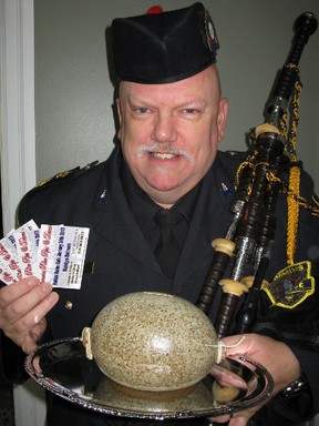 """A few tickets are still available for the Timmins Pipes and Drums second-annual Robbie Burns Gala being held at the McIntyre Ballroom on Saturday, Jan. 26. Last year's gala sold out and event organizer Tom Luke said, """"It looks like we will sell out again this year."""""""