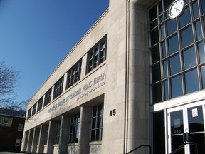 The Cornwall Public Library