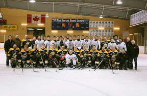 """The Cochrane Rush faced the Cochrane OPP in a charity game that raised money for the special olympics on Jan. 31. Tonight they are hosting a """"Fan Appreciation"""" night."""