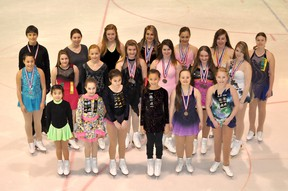 The Timmins Porcupine Figure Skating Club had a great showing at the 2013 James Bay Interclub Competition at the Archie Dillon Sportsplex late last month. Members of the club present at practice on Thursday took some time to pose for a group photo.