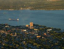 Brockville from the air.