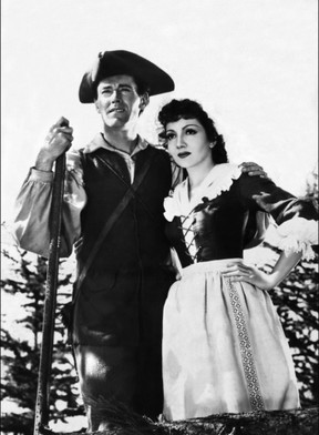 Henry Fonda and Claudette Colbert starred in Drums Along the Mohawk in 1939, directed by John Ford.
