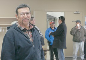 Erin Steele/R-G Billy Joe Laboucan was declared chief by acclamation at the Lubicon Lake Nation election on Friday, Feb. 15. Council members elected include Brian Laboucan, Mike Ominayak, Irene Laboucan, Joe Auger and Cheryl Laboucan. One-hundred people voted. Laboucan says the first step is getting federal recognition, which happened Monday with a letter from Aboriginal Affairs and Northern Development Canada congratulating Laboucan on his election as chief.