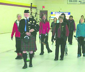 A local curling funspiel raised money for Patricia's Blankets earlier this month. Photo by Aaron Taylor/Fort Saskatchewan Record/QMI Agency