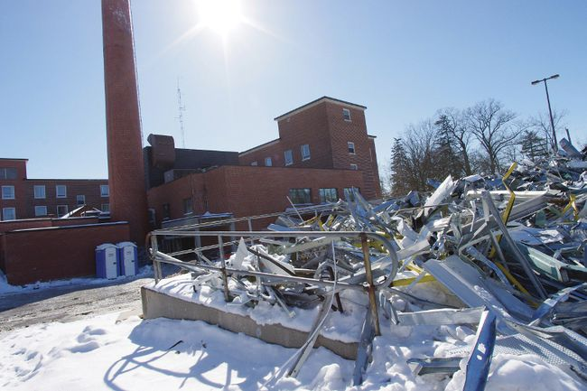 The old Woodstock General Hospital is expected to be demolished and the land put on the  market by the summer of 2013. (HEATHER RIVERS, Woodstock Sentinel-Review)