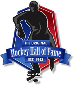 The new logo for the Original Hockey Hall of Fame in Kingston.