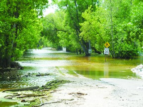 Delta Beach sustained significant damage in the 2011 flood. (Portage Daily Graphic file photo)