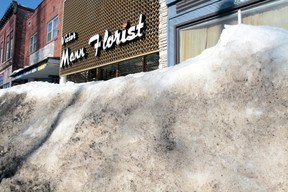 High snowbanks in Sault Ste. Marie are raising some concerns, but city staff says it's a matter of taking care of high priority areas first.