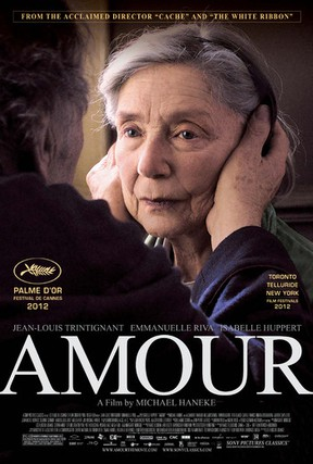 Screen One Film Series showing Amour at Uptown Theater.