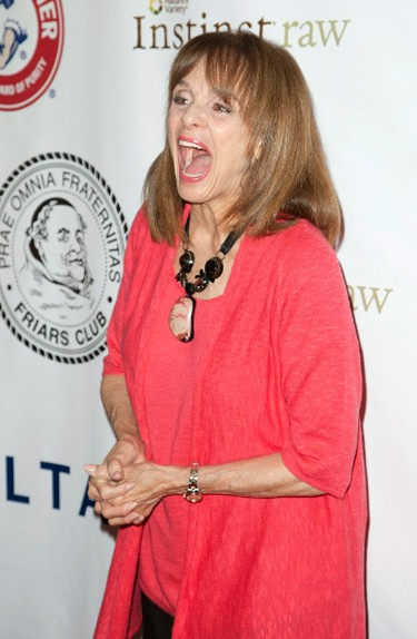 Actress Valerie Harper attends the Friars Club Roast of Betty White in New York May 16, 2012. REUTERS/Andrew Kelly