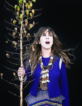 Serena Ryder tours in support of her new album Harmony with a stop in Kingston at the Grand Theatre on March 9.