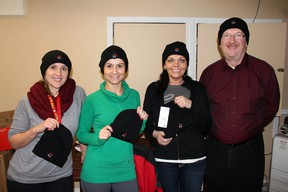 Toque Tuesday saw the Fort McMurray Centre of Hope drop off the winter headwear to a number of retailers around town on Feb. 5, where residents were able to purchase them. TODAY FILE PHOTO