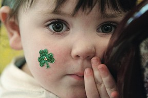 St. Patrick's Day is Sunday, March 17, 2013.