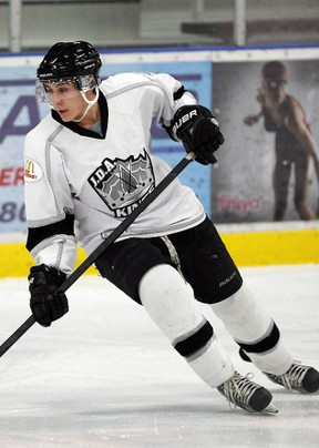Connor Tetlock (pictured) and Adam Hodge were signed by the Kings in November, specifically with a championship series in mind. (Photo courtesy Maurice Trudeau/MT Actions Photography)