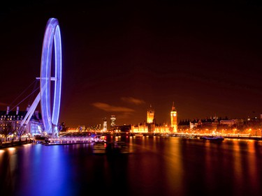 """8. The London Eye – London, England (3,796 photos taken)""""Amazing view of the city all lit up at night, well worth doing. I have been in the day also -- very good experience,"""" says TripAdvisor user GCW23. (Fotolia)"""