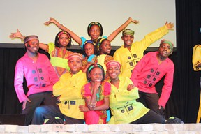 The Watoto Children's Choir performed in Melfort on Thursday, March 14, 2013.