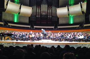 Clarissa Losey, a County Central High School student, was selected to perform with the University of Alberta High School Honour Band in February.