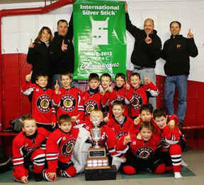 The Tweed Novice Hawks recently wrapped up a stellar season in which they won the Regional Silver Stick championship and advanced to the OMHA semi-finals.