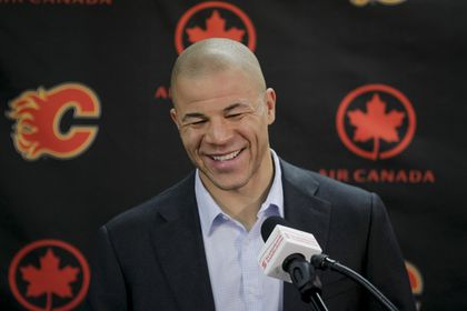 Jarome Iginla speaks to media after trade to Pittsburgh