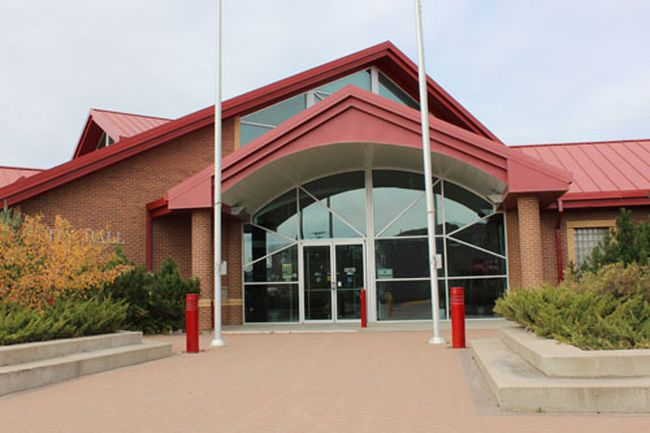 Melfort city hall.