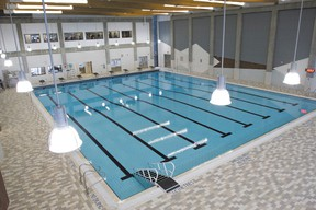 The aquatics facility at Elevation Place will see a delayed opening following an announcement from the Town of Canmore citing minor construction and training delays. Justin Parsons/ Canmore Leader/ QMI Agency