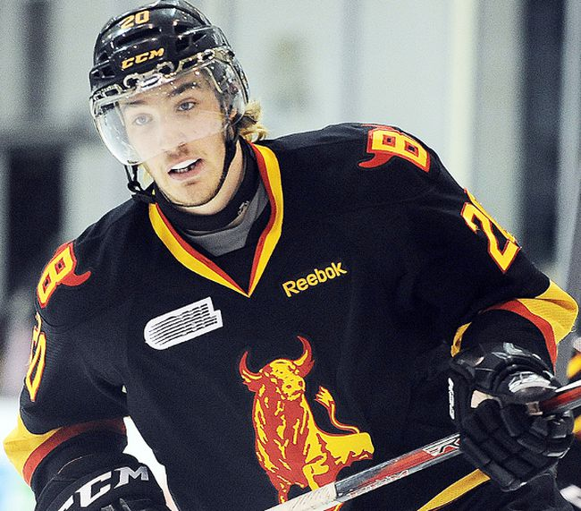 Belleville Bulls forward Tyler Graovac has been deemed the Most Sportsmanlike Player in the OHL for the 2012-13 campaign.(Aaron Bell for OHL Images)