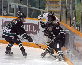 The Sherwood Park Bantam AAA Royals were able to battle their way to eight players being selected for the upcoming Alberta Challenge. Photo by Shane Jones/Sherwood Park News/QMI Agency