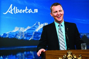 Municipal Affairs Minister Doug Griffiths has said amalgamating the Edmonton Capital Region is not on his to-do list. File Photo