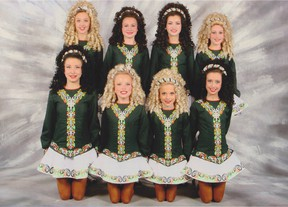 The Mattierin Under-13 world team finished fifth at a recent feis.