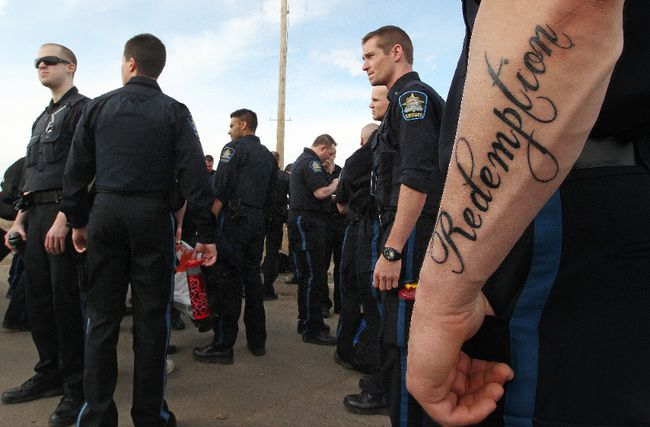 Seventy correctional officers from AUPE Local 3 walked off the job at the new Edmonton Remand Centre, 18415 - 127 St., in Edmonton, Alta. on Friday April 26, 2013. David Bloom/Edmonton Sun/QMI Agency