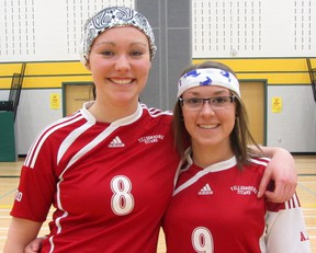 Sidney Robertson (left) and Mariah Gooding (right) are participating in the 10th annual Southern Ontario Amazing Race (SOAR) this June. The event runs across three days, beginning in Guelph and concluding in Windsor, with teams required to complete assigned tasks en route. Contributed Photo