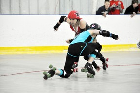 Canmore Roller Derby April 2013