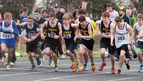 More than 400 athletes from the Bay of Quinte region and Kingston competed at the inaugural Peter Howe Invitational Track and Field and Relay Meet last Wednesday at Trenton High School's new Doug Whitley Track and John C. Garrett Sports Field.