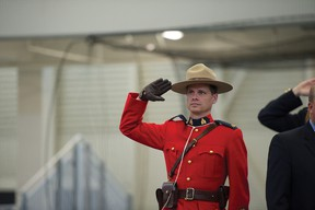 RCMP Const. David Henry is moving up north this summer.