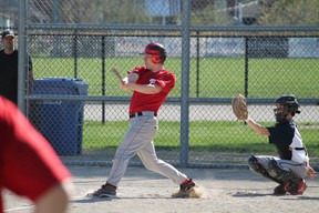The Paris Panthers boys baseball team posted a 2-0 record in their first two games. MICHAEL PEELING/The Paris Star/QMI Agency