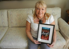 Eight months after diving into a second career as a full-time writer, Cornwall's Susanne Matthews has release Fire Angel – a crime romance – and has several more novels in the hands of publishers. CHERYL BRINK staff photo