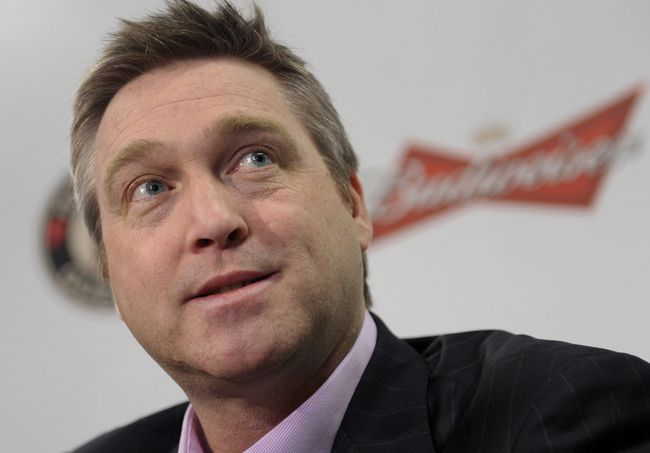 Hall of Fame goalie Patrick Roy is the new coach of the Colorado Avalanche. (QMI Agency file photo)