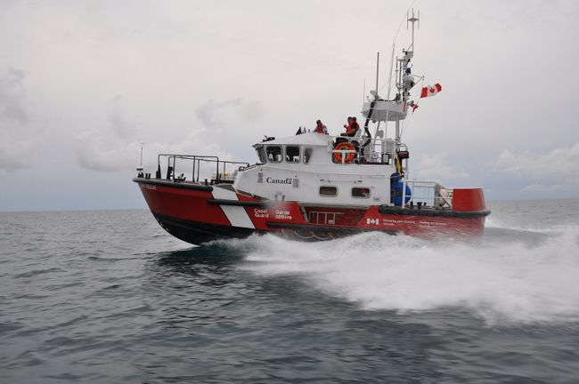 A Canadian Coast Guard search and rescue lifeboat. Photo courtesy of Canadian Coast Guard.
